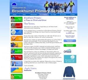 Brookhurst website in 2013